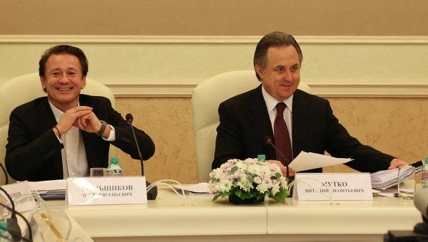 Олег Меньшиков принял участие в заседании Общественного совета при Минспорте