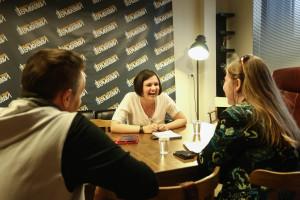 Интервью зрителей с Олегом Меньшиковым