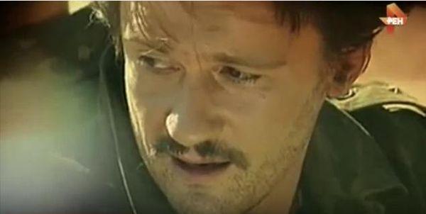 Олег Меньшиков на съемках фильма