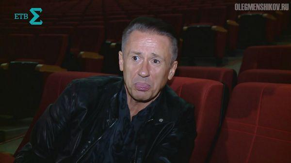 Олег Меньшиков в интервью телеканалу ЕТВ в Екатеринбурге