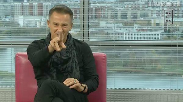 Олег Меньшиков в интервью телеканалу Malina