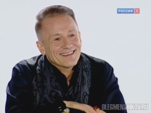 """Олег Меньшиков в программе """"Белая студия"""" Дарьи Спиридоновой"""