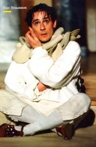 Олег Меньшиков в роли Нижинского в одноименном спектакле