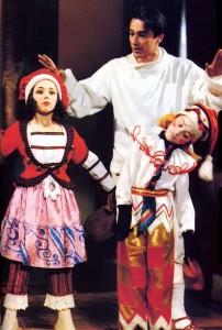 """Олег Меньшиков в спектакле """"Нижинский"""", 1993 г."""