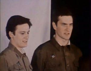 Олег Меньшиков и Александр Балуев в спектакле «Часы без стрелок»