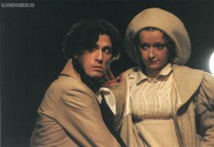 Алексей Завьялов и Ольга Кузина в спектакле «Горе от ума»