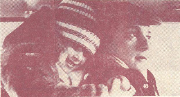 Олег Меньшиков и Илюша Тюрин в фильме «Мой любимый клоун» (1987)