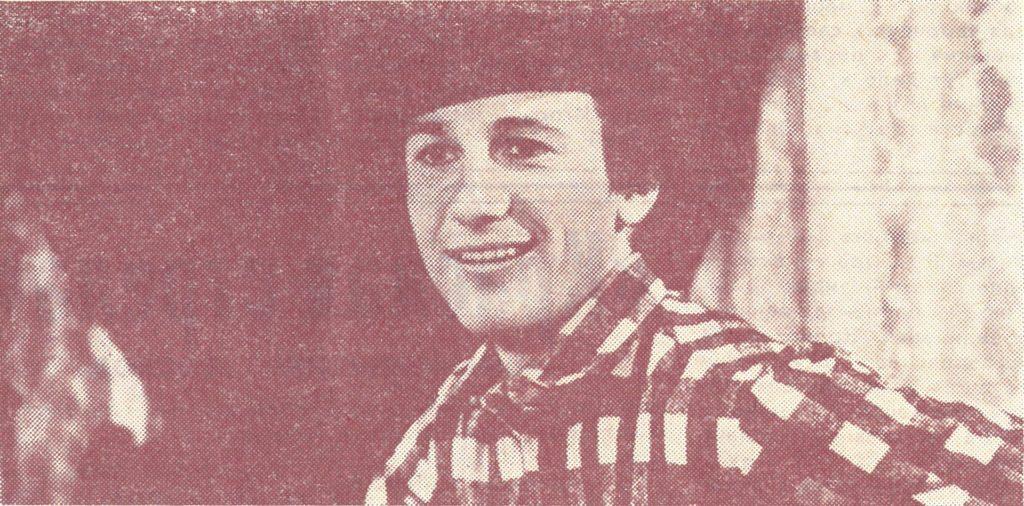 Олег Меньшиков в фильме «Мой любимый клоун» (1987)